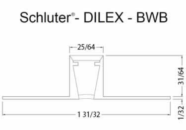 Schluter®-DILEX-BWB - Surface Joint Profile large image 8