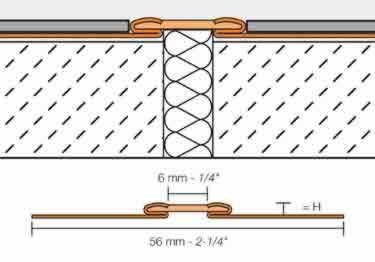 Schluter®-DILEX-EKSB - Surface Joint Profile large image 7