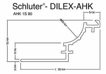 Schluter® DILEX-AHK | Cove-shaped Profiles, Corners, and End Cap large image 10