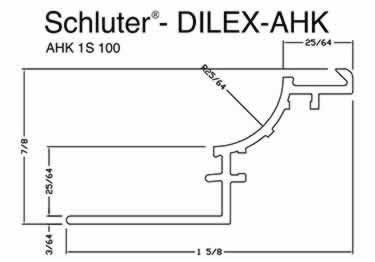 Schluter® DILEX-AHK | Cove-shaped Profiles, Corners, and End Cap large image 11