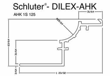 Schluter® DILEX-AHK | Cove-shaped Profiles, Corners, and End Cap large image 12