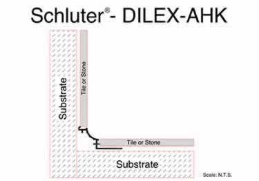 Schluter® DILEX-AHK | Cove-shaped Profiles, Corners, and End Cap large image 13