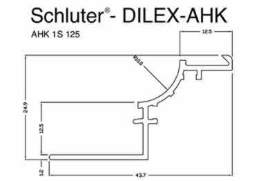 Schluter® DILEX-AHK | Cove-shaped Profiles, Corners, and End Cap large image 16