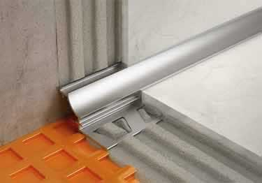 Schluter® DILEX-AHK | Cove-shaped Profiles, Corners, and End Cap