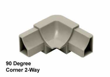 Schluter® DILEX-HK | Curved Profile, Corners, and End Cap large image 10