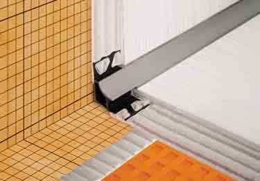 Schluter® DILEX-HK | Curved Profile, Corners, and End Cap