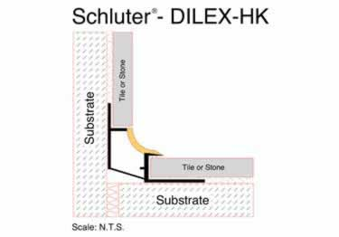 Schluter® DILEX-HK | Curved Profile, Corners, and End Cap large image 6
