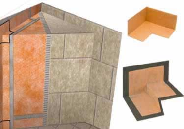 Schluter® KERDI-KERECK-F, KERS-B, and KERS - Waterproof Corners