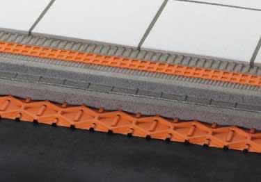 Schluter® TROBA&TROBA-PLUS | Waterproof Tile Drainage Membrane