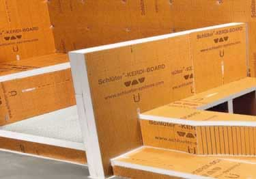 Schluter® KERDI Shower Benches SB