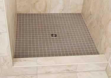 Schluter kerdi shower curb board sc - Ditra shower system ...