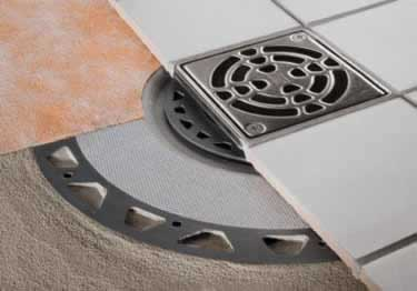 Tub Shower Kerdi Drains | Flanges