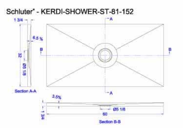 Schluter KERDI Shower Tray ST large image 13