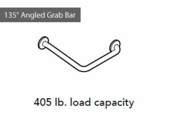 Grab Bars | Stainless Steel Angled and Folding  large image 10