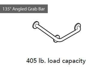 Grab Bars | Stainless Steel Angled and Folding  large image 11