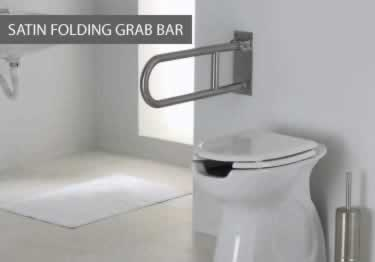 Grab Bars | Stainless Steel Angled and Folding  large image 17