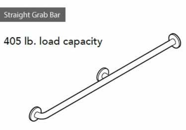 Grab Bars | Stainless Steel Straight  large image 10