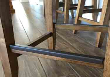 Bar Stool Foot Rail Protectors