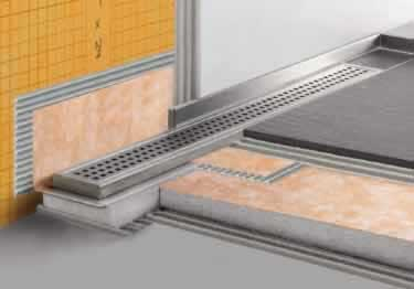 Schluter® KERDI LINE Linear Floor Drain Channel large image 2
