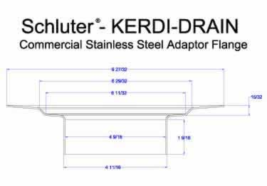 Schluter® KERDI DRAIN AR Adaptor Kits - Commercial  large image 12