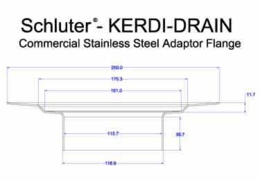 Schluter® KERDI DRAIN AR Adaptor Kits - Commercial  large image 13