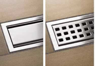 Schluter® Drain Grate KERDI-LINE Perforated | Closed Assemblies