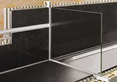 Schluter® DECO-SG Wide Channel Profiles