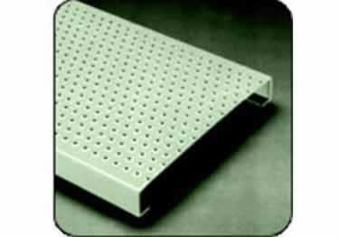 Metal Safety Stair Treads Traction Tread™ | Perforated Buttons  large image 1
