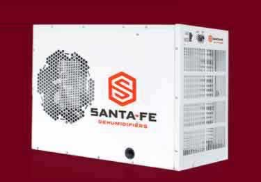 Crawl Space Dehumidifiers by Santa Fe