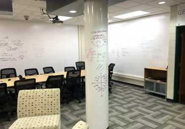 Dry Erase Whiteboard Wall Covering