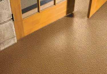 Roppe Hammered Design Rubber Flooring
