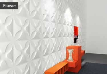 3D Paintable Self-Stick Wall Panels  large image 3
