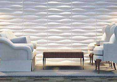 3D Paintable Self-Stick Wall Panels
