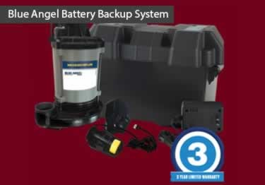 Blue Angel® Submersible with Battery Backup Pump System large image 2