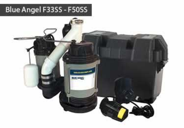 Blue Angel® Submersible with Battery Backup Pump System large image 4