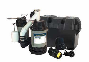 Blue Angel® Submersible with Battery Backup Pump System