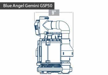 Blue Angel® Gemini GSP50 Submersible with Battery Backup Pump System  large image 2