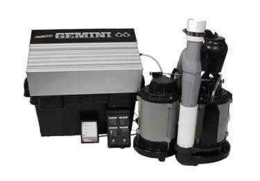 Blue Angel® Gemini GSP50 Submersible with Battery Backup Pump System