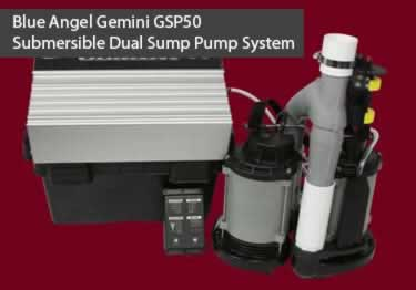 Blue Angel® Gemini GSP50 Submersible with Battery Backup Pump System  large image 6