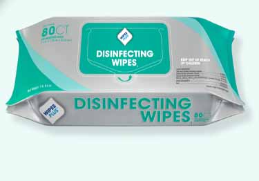 WipesPlus® Disinfecting Surface Wipes