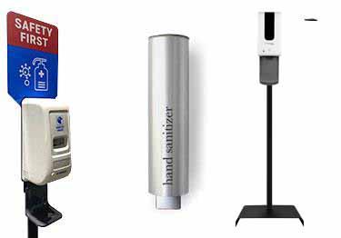 Free-Standing Touchless Hand Sanitizer Dispenser